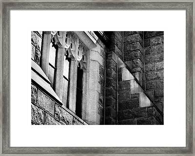 Franco Center Lewiston Maine Framed Print by Donna Lee