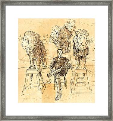 Francois. Framed Print by H James Hoff