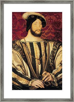 Francois I Framed Print by Jean Clouet