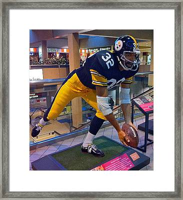 Franco's Immaculate Reception Framed Print