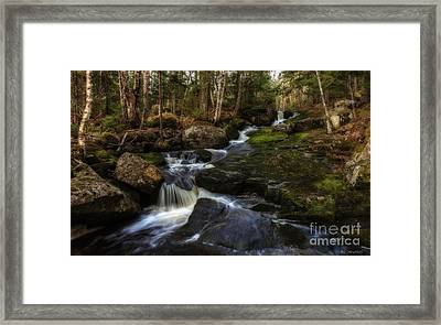 Franey Falls Framed Print