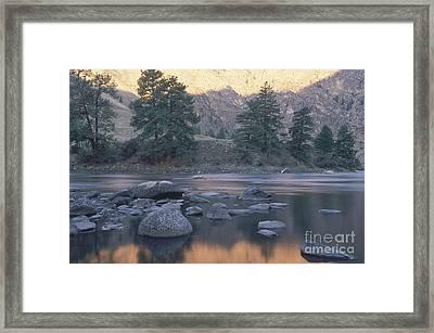 Frank Church River Of No Return Framed Print