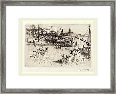 Frank Duveneck, Riva Degli Schiavoni 2 Framed Print by Litz Collection