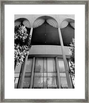 Frank Lloyd Wright Designed Auditorium Framed Print by Karyn Robinson