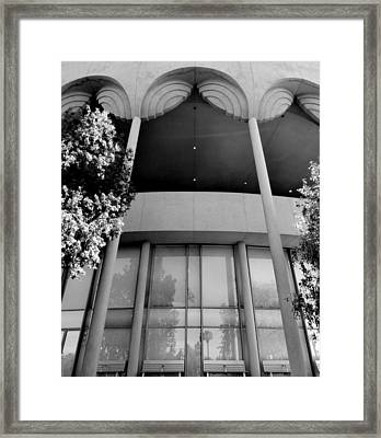 Frank Lloyd Wright Designed Auditorium Framed Print