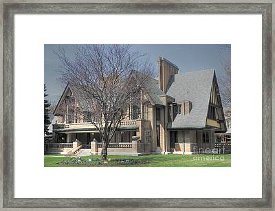 Frank Lloyd Wright First Commission Framed Print by David Bearden