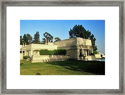 Frank Lloyd Wrights Hollyhock House Framed Print