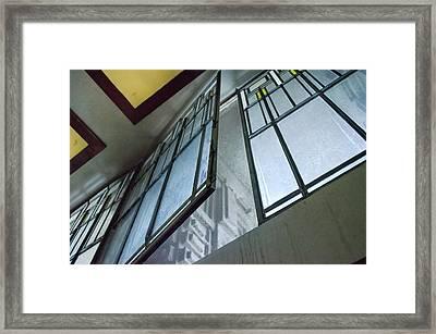 Frank Lloyd Wright's Open Window Framed Print
