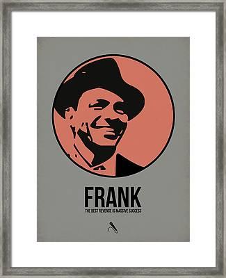 Frank Poster 1 Framed Print by Naxart Studio