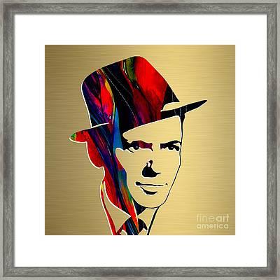 Frank Sinatra Art Framed Print