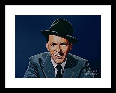 Jazz Legend Framed Prints