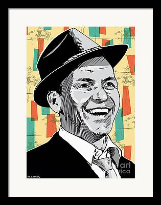 Frank Sinatra Framed Prints