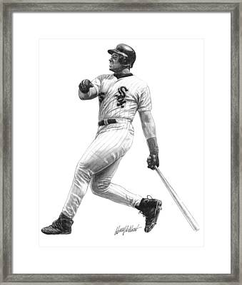 Frank Thomas Framed Print