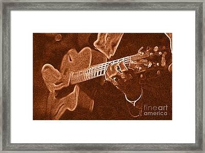 Frank Vignolas Guitar Framed Print
