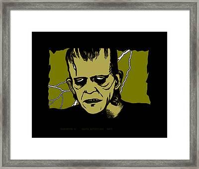 Frankenstein 31' Framed Print by Christopher Korte