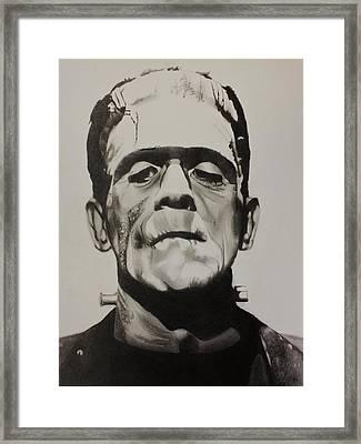 Frankenstein  Framed Print by Brian Broadway