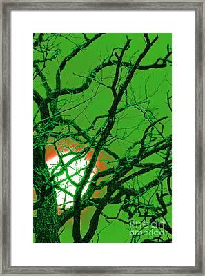 Frankenstein Moon Framed Print