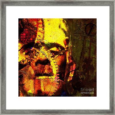 Frankenstein The Man Machine 20130718 Framed Print