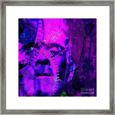 Frankenstein The Man Machine 20130718m120 Framed Print