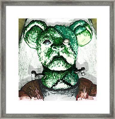 Frankenstein's Koala Framed Print by Del Gaizo