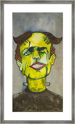 Frankensteins Monster As Tillie Framed Print by Patricia Arroyo