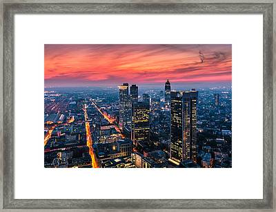 Frankfurt 04 Framed Print by Tom Uhlenberg