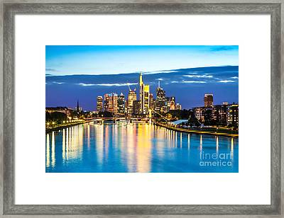 Frankfurt Am Main Framed Print