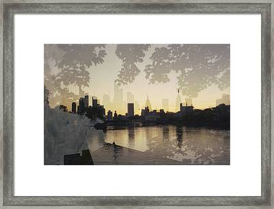 Frankfurt Am Main Framed Print by Juan  Bosco