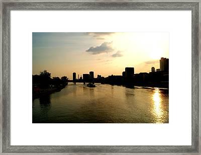 Frankfurt / Main Framed Print by Adam  S