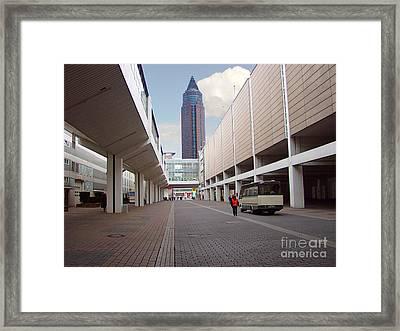 Frankfurter Messe Turm Framed Print