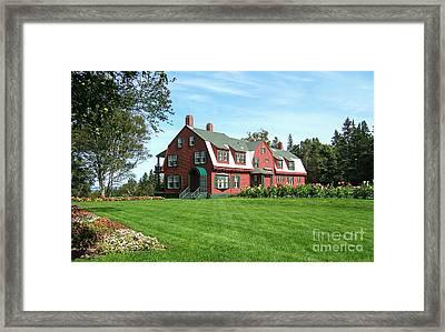Franklin D. Roosevelts Beloved Island Campobello Framed Print