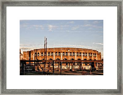 Franklin Field In The Morning Framed Print by Bill Cannon