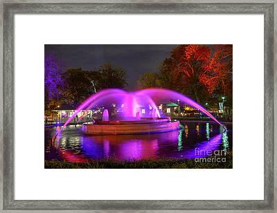 Franklin Fountain Framed Print by Mark Ayzenberg
