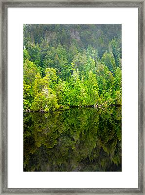 Franklin Gordon Rivers Reflections II Framed Print