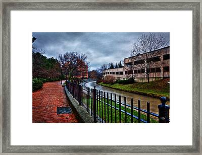 Franklin Park Framed Print by Everet Regal