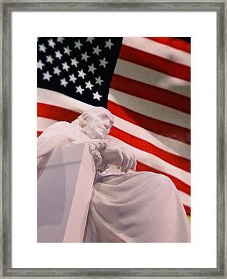 Franklin Remembrance Framed Print