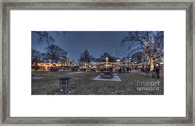 Franklin Square Electrical Spectacle Framed Print