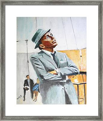 Frankly Speaking Framed Print