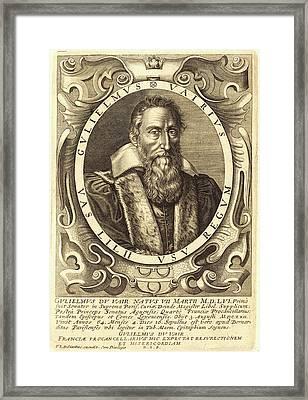 François Langlois, French 1589-1647, Guillaume Du Vair Framed Print by Litz Collection
