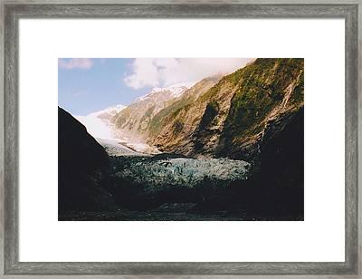 Franz-josef Glacier Framed Print