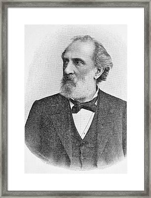 Franz Reuleaux Framed Print by Bildagentur-online/tschanz