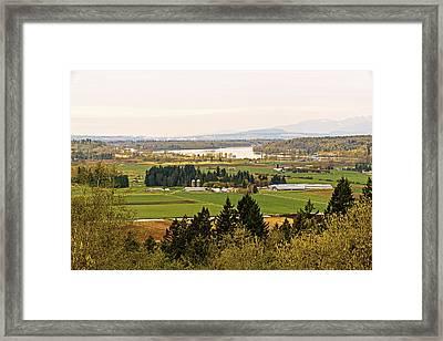 Fraser Valley Toll Bridges Framed Print by Paul W Sharpe Aka Wizard of Wonders