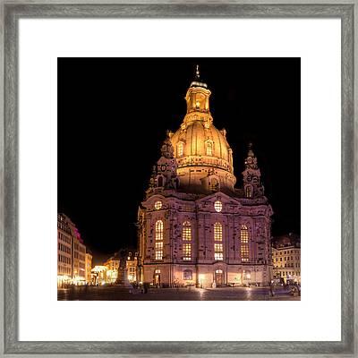 Frauenkirche Framed Print by Steffen Gierok