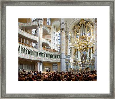 Frauenkirche Framed Print by William Beuther