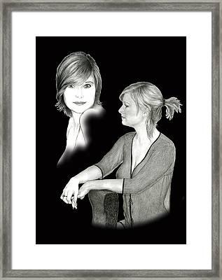 Fraulein Framed Print