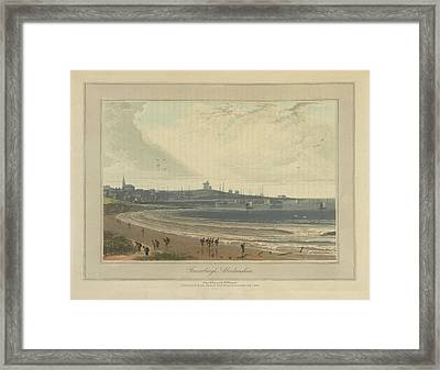 Frazerburgh In Aberdeenshire Framed Print by British Library