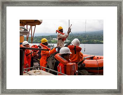 Frc Traing Framed Print
