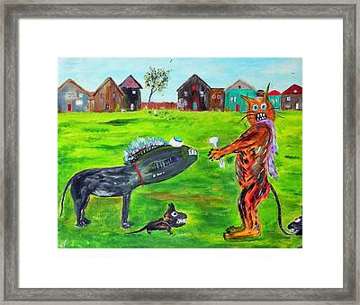 Freaks Of Nature Framed Print