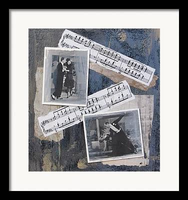 Lune Mixed Media Framed Prints