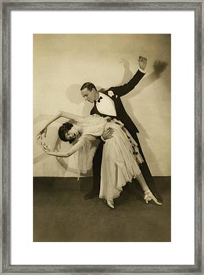 Fred Astaire Framed Print by Edward Steichen